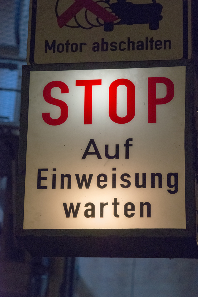 Elbtunnel: Stop